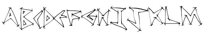 TweakDiner Font UPPERCASE