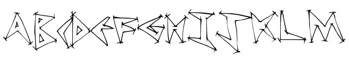 TweakDiner Font LOWERCASE