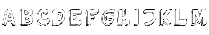 Tweedy_Erc_01 Font UPPERCASE
