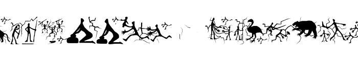 TwelveYearsAfter Font LOWERCASE