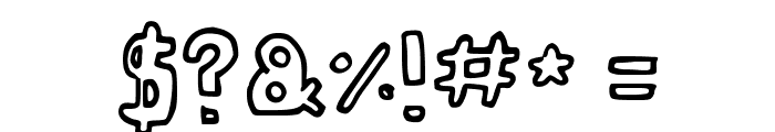 Twenty Twenty Font OTHER CHARS