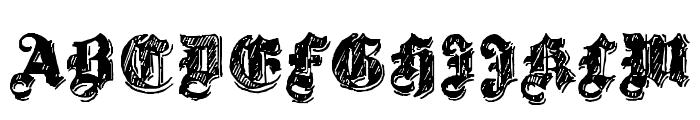 Twenty12 Font UPPERCASE