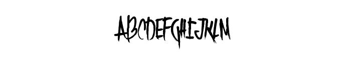 TwentySingles Font UPPERCASE
