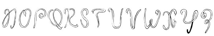 Twentysix Snakerumba Font UPPERCASE