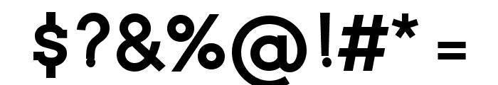 Twentytwelve Slab Bold Font OTHER CHARS