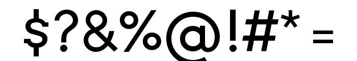Twentytwelve Slab Regular Font OTHER CHARS
