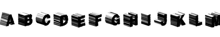 TwerkFifty Font UPPERCASE