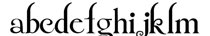 Twilight Breaking Dawn Font LOWERCASE