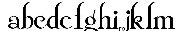 Twilight Crepuscolo italiano Font LOWERCASE
