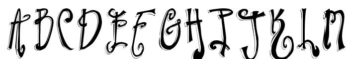 Twilight Express Font UPPERCASE