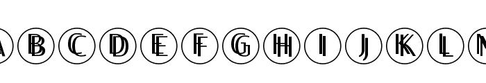 TwilightDisks Font LOWERCASE