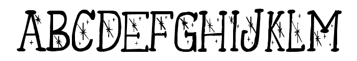 TwilightOzone-Regular Font UPPERCASE