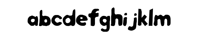 Twister Fusion Font LOWERCASE