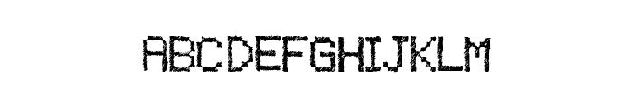 TwistyPixel Font UPPERCASE