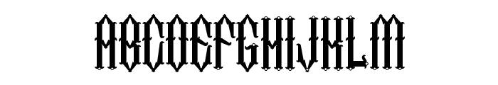 Two Fingers King Light Font LOWERCASE