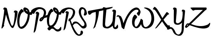 Twopath Font UPPERCASE