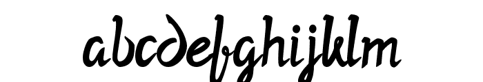 Twopath Font LOWERCASE