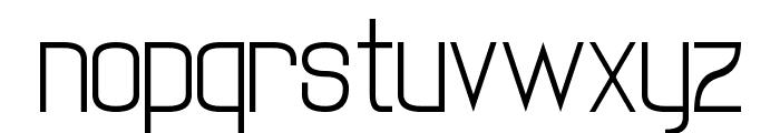 twenty-one Font LOWERCASE