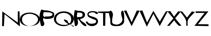 twisted_mister Normal Font UPPERCASE
