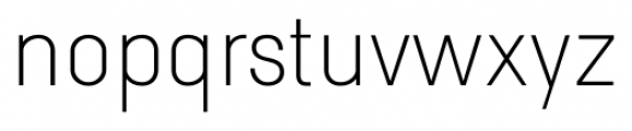 TWS Savory Thin Font LOWERCASE