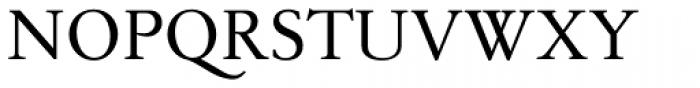 TWT Pavane Font UPPERCASE
