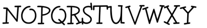 Tweedledee Font UPPERCASE
