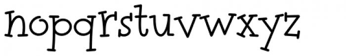 Tweedledee Font LOWERCASE