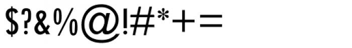 Twentieth Century Condensed Medium Font OTHER CHARS