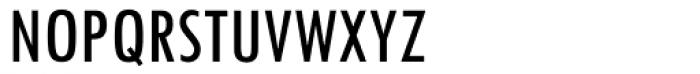 Twentieth Century Condensed Medium Font UPPERCASE