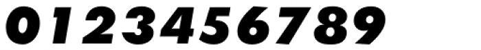 Twentieth Century Pro UltraBold Italic Font OTHER CHARS