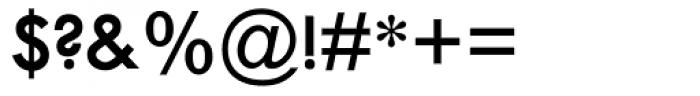 Twentieth Century SemiBold Font OTHER CHARS