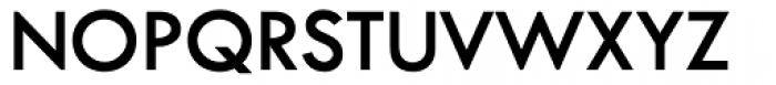 Twentieth Century SemiBold Font UPPERCASE