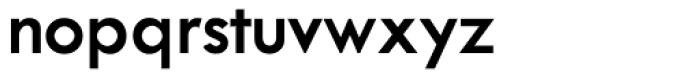 Twentieth Century SemiBold Font LOWERCASE
