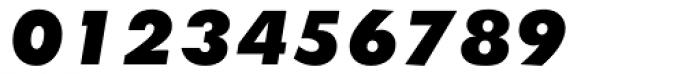 Twentieth Century UltraBold Italic Font OTHER CHARS