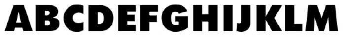 Twentieth Century UltraBold Font UPPERCASE
