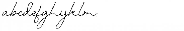 Twenty One Regular Font LOWERCASE