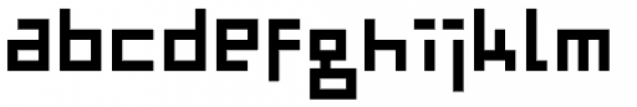 TwentyFourNinetyOne Font LOWERCASE