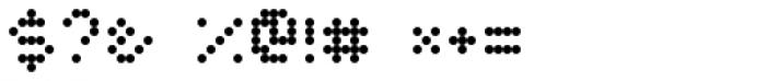 Twiddlybitz Dotz Font OTHER CHARS