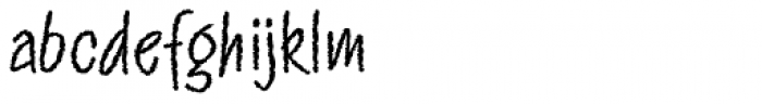 Twiggs Font LOWERCASE