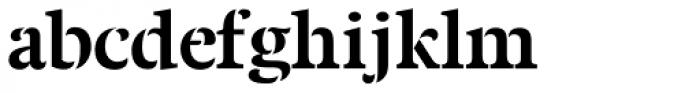 Twine Bold Font LOWERCASE