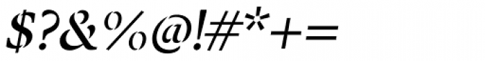 Twine Italic Font OTHER CHARS