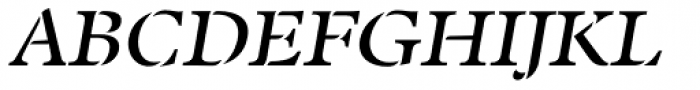 Twine Italic Font UPPERCASE