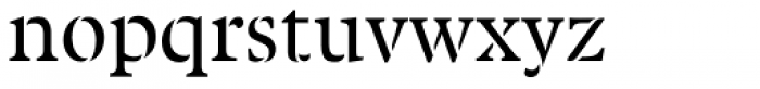 Twine Font LOWERCASE