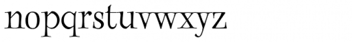 Twinkle Book Font LOWERCASE