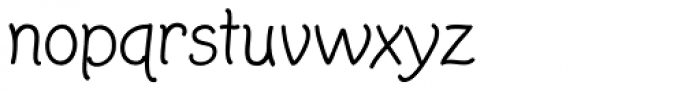 Twinkle Star Casual Font LOWERCASE