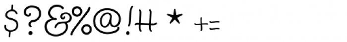 Twinkle Star Script Font OTHER CHARS