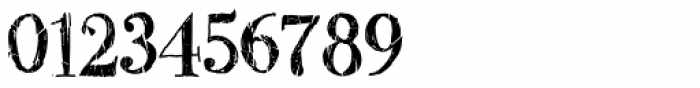 Two Fingers Bodoni Crashed Font OTHER CHARS
