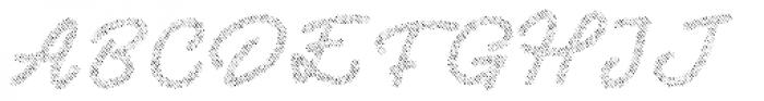 Two Fingers Script Jeans Font UPPERCASE