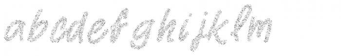 Two Fingers Script Jeans Font LOWERCASE