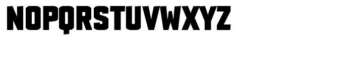 TX Manifesto Stout Font UPPERCASE